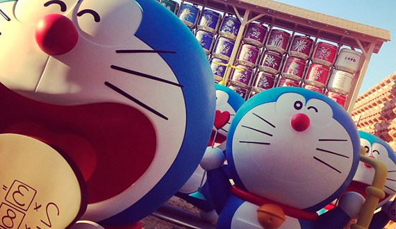 Doraemon Expo Milan - picture by @dade.m